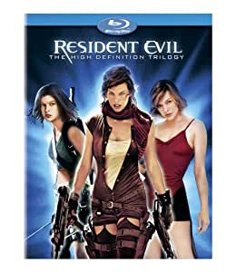 Resident Evil: The High-Definition Trilogy (Resident Evil / Resident Evil: Apocalypse / Resident Evil: Extinction) [Blu-ray]