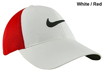 30169e910ef Nike Golf- Legacy91 Tour Mesh Cap White Red Large Extra Large ...