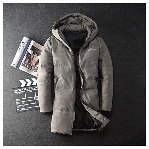 Lungo Abbigliamento Giacche Fashions Gray Piumino Cappotto Streetwear 66 Parka Invernali Dimensioni Gray colore Xxl Srl Uomo q1nHYSgq