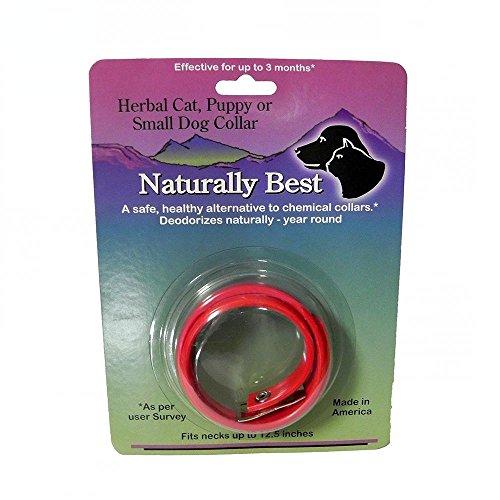Naturally Best Herbal Cat Flea Collar 12-inch