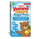 Best Gummy Multivitamin For Kids - Yummi Bears Sugar Free Multivitamin and Mineral Gummy Review