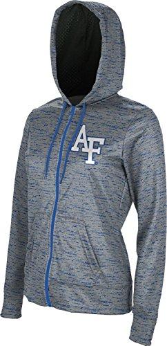 3b113559f06 U.S. Air Force Academy Zipper Hoodie - Licensed Collegiate Women s Micro-Poly  Fabric Sweatshirt