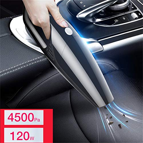 Freeby Cord Hand Held Vacuum Cleaner Small Mini Portable Car Auto Home Dirty Rapid Removal Dust Vacuum Cleaner (Black, 300 x 95 x 50MM)