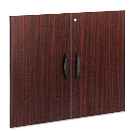 - ALERA VA632832MY Valencia Series Cabinet Door Kit For All Bookcases, 31-1/4quot; Wide, Mahogany