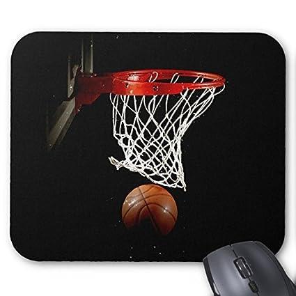 Balón de baloncesto y Net alfombrilla de ratón: Amazon.es: Oficina ...