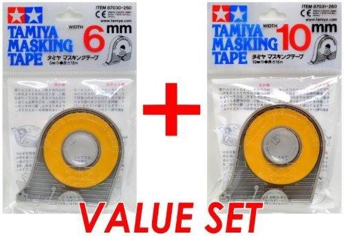 - Tamiya 87030 Masking Tape 6mm & 87031 10mm Value Set