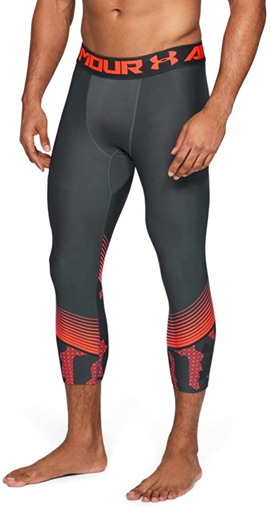 Under Armour mens Heatgear Armour 3/4 Novelty Leggings