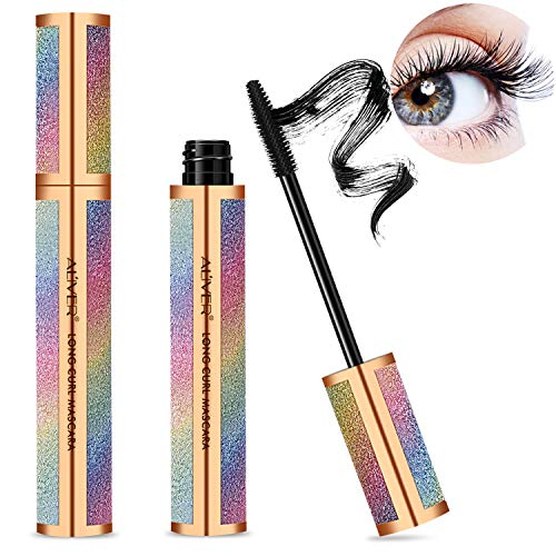 4D Silk Fiber Lash Mascara, Natural Thickening and Lengthening Mascara Lasting All Day, Waterproof Smudge-Proof  Long Lasting Charming Eye Makeup in USA