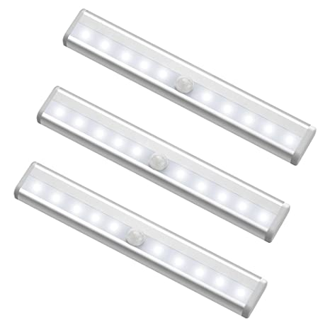 10 LED Motion Sensing Closet Lights, MagicBuds Super Bright Stick On  Anywhere Portable 10