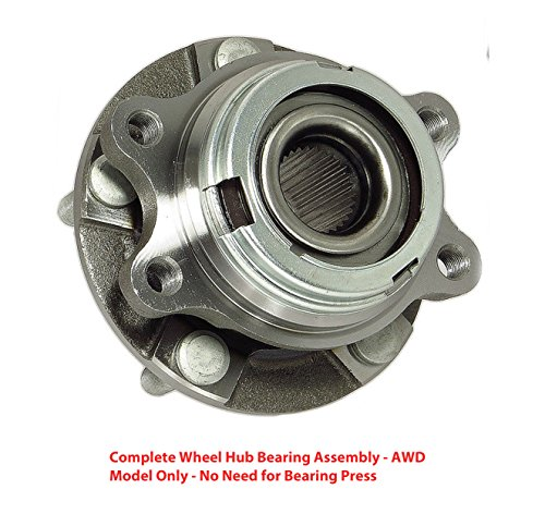 2006 Infiniti G35 Awd (DTA Front Wheel Hub Bearing Full Assembly NT513311G3 Fits Front Left or Right 2004-2006 Infiniti G35X AWD Only)
