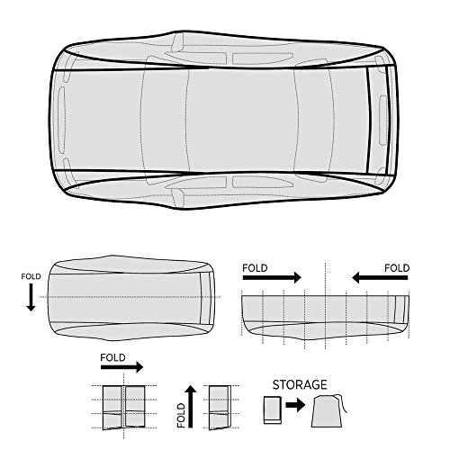 Motor Trend Universal Car Cover Size