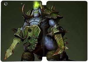 Cubierta de cuero y caja de la PC funda / soporte para funda de Apple iPad Mini 1,2,3 funda Con Magnetic reposo automático Función de despertador DIY por World Of Warcraft V5T8Yi1D7Pc