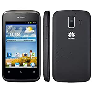 "Huawei Ascend Y200 - Smartphone libre Android (pantalla táctil de 3,5"" 320 x 480, cámara 3.15 MP, 512 MB de capacidad, procesador de 800 MHz, 256 MB de RAM, S.O. Android 2.3) color negro"