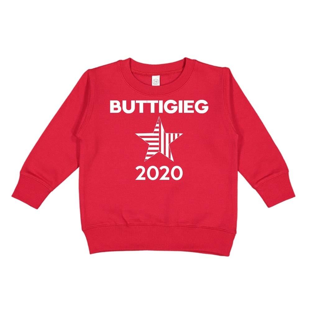 Star Presidential Election 2020 Toddler//Kids Sweatshirt Mashed Clothing Buttigieg 2020