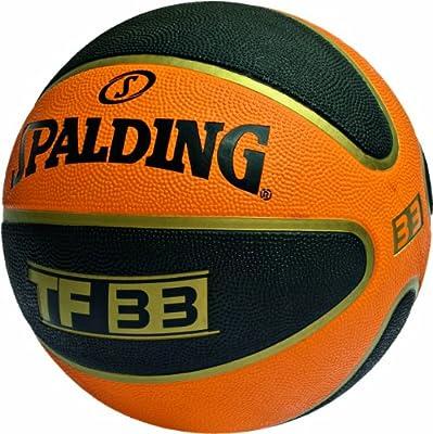 Spalding TF 33 - Balón de Baloncesto para Exterior, Color Naranja ...