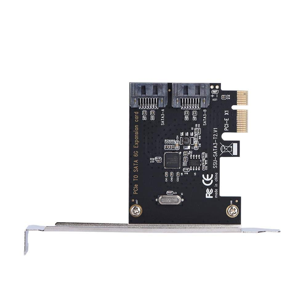Amazon.com: Tihebeyan PCI-E Cards, PCI Express to 2-Port ...
