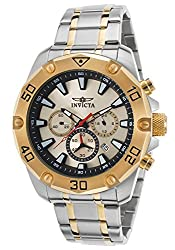 Invicta Men's 'Pro Diver' Quartz Stainless Steel Casual Watch (Model: INVICTA-20012)
