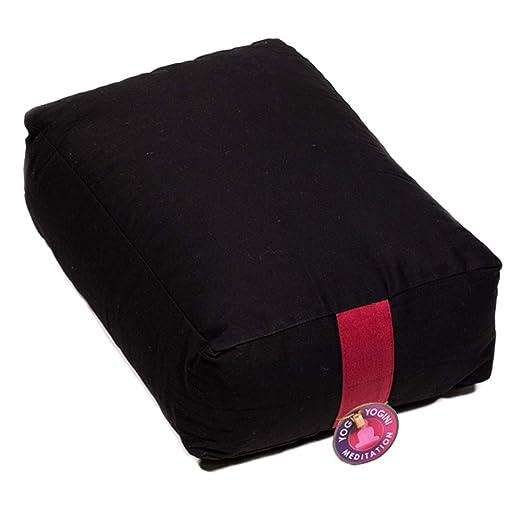 Zen - Cojín de meditación para Yoga, Color Negro: Amazon.es ...
