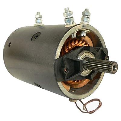 Db Electrical LRW0005 Winch Motor for 12V Warn 20 Spline Heavy Duty reversible 3-post,Xd9000, Xd9000i, Mx8000, M8000, Mx6085,Mrvb5