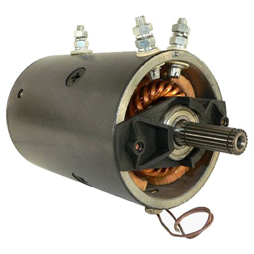 DB Electrical LRW0005 New Winch Motor for 12V Warn 20 Spline Heavy Duty reversible 3-post, Xd9000, Xd9000i, Mx8000, M8000, Mx6085, Mrvb5 430-20018 10748 MRVB4 MRVB5 15747 17102 82-6867 W-5623