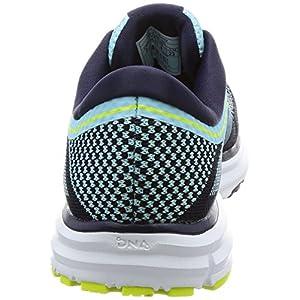 Brooks Women's Revel Island Blue/Evening Blue/Lime Popsicle Athletic Shoe