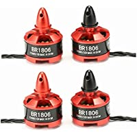 BangBang 4X Racerstar Racing Edition 1806 BR1806 2280KV 1-3S Brushless Motor CW/CCW For 250 260 RC Multirotor