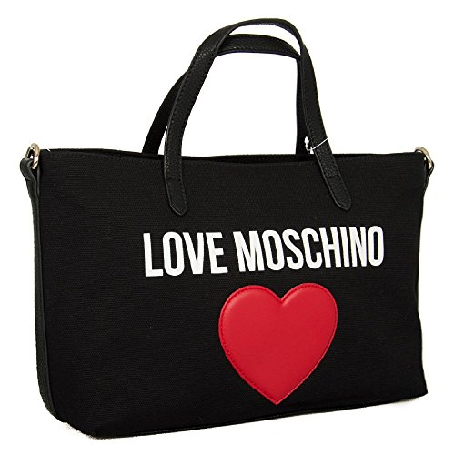 PU MOSCHINO bandouliere PEBBLE LOVE article femme JC4137PP15L3 Sac 000A Nero CANVAS q8nOZtqxw