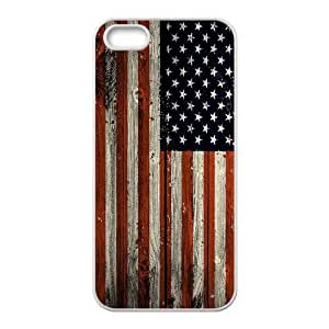 High-quality Case for iPhone 5,iPhone 5s w/ USA Flag image at Hmh-xase (style 5)