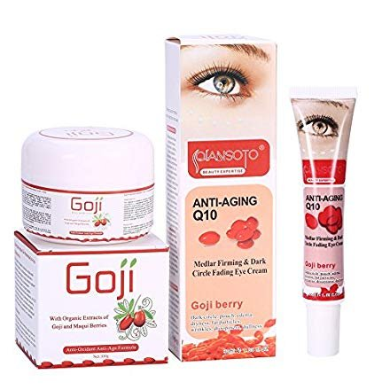 Goji Berry Anti-Aging Face Cream + Dark Circle Wrinkle-Remove Eye Cream