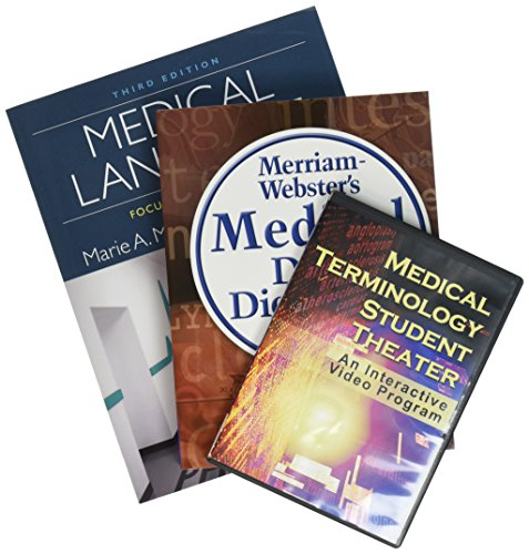 - Bundle: Medical Language: Focus on Terminology, 3rd + Medical Terminology Student Theater + Merriam-Webster's Medical Desk Dictionary, Revised Edition, 3rd