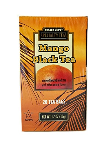 ty Teas: Mango Black Tea (20 Bags) - 1.2oz (Black Cocktail Bunny)