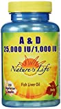 Cheap Nature's Life A and D, 25,000 IU/1000 IU Softgels, 250 Count