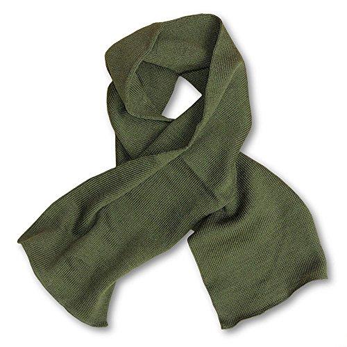 US Army Genuine GI USMC Military Winter Neckwear Olive Drab OD Green Wool Scarf ()