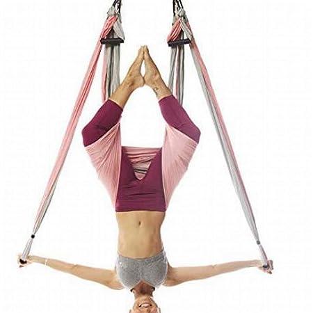 GSAYDNEE Aerial Yoga Hammock 6 Hamaca Fitness de Gravedad ...