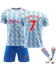 2021/2022 New CR7 Ronaldo Manchester Adult Child New Jersey Suit Set
