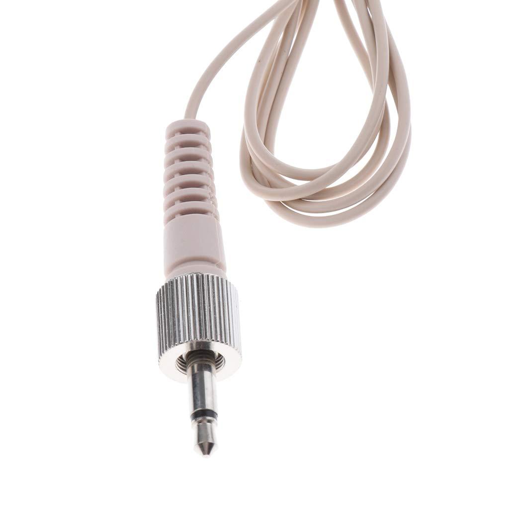 Filo da 3,5 mm gazechimp Singolo Earhook Headset Headworn Mono Microfono Jack Da 3,5 Mm//XLR