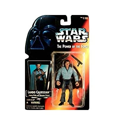 Star Wars Red Card Lando Calrissian 1995 POTF Power of the Force Action Figure