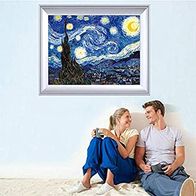 HiMoliwa Puzzle 1000 Piece Jigsaw Puzzle for Kids Adults, Landscape Cartoon Oil Painting Large Puzzle Entertainment Brain IQ Developing Game Toy Gift(Size:29.5x19.12 inch): Toys & Games
