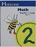 Horizons Math, Grade 2, Teacher's Guide, 9781580959544, 1580959547, 1993