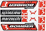 Marzocchi Bomber bike forks decals stickers graphic vinyl aufkleber adesivi #1