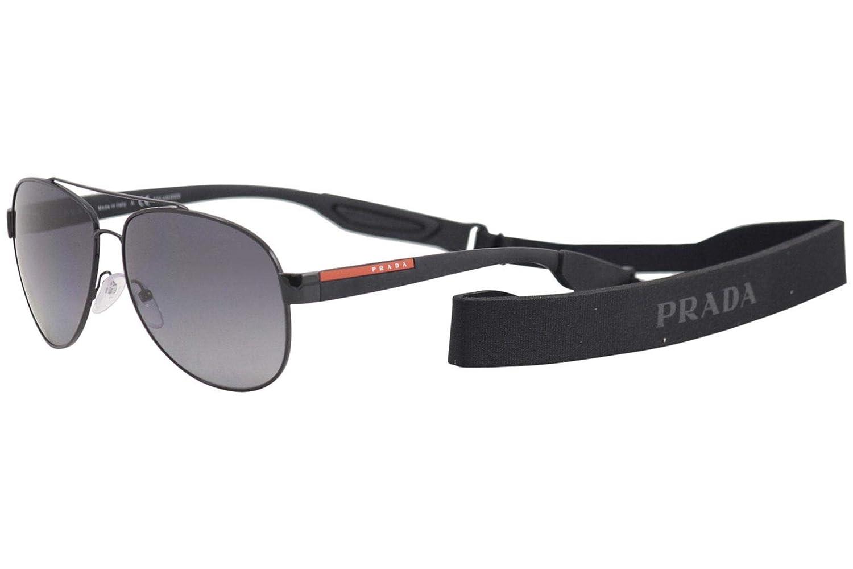 Amazon.com: Prada PS55QS 1AB5W1-62 - Gafas de sol, marco ...