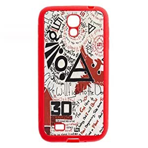 Famous popular rock band 30 seconds to mars music bird design pink TPU Samsung Galasy S3 I9300