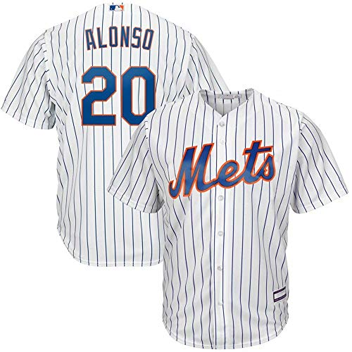 #20 Pete Alonso New York Mets Home Cool Base Player Jersey - White M