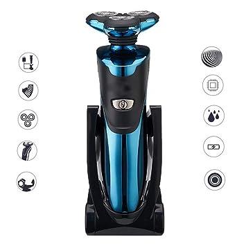 Amazon.com: Afeitadora eléctrica 4D, afeitadora, maquinilla ...