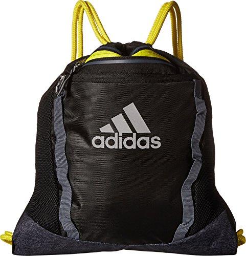adidas Rumble II Sackpack, Black/Black Jersey/Shock Yellow/Onix, One Size