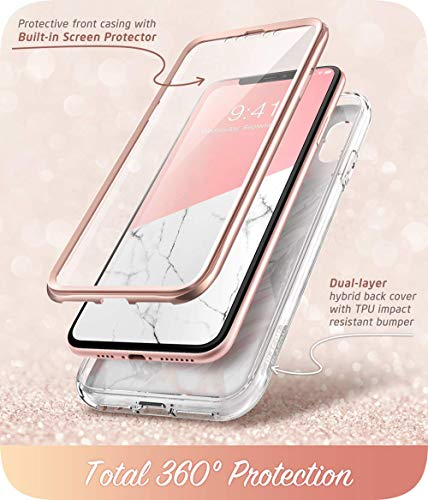 i-Blason Cosmo Series Designed for iPhone Xs Max Case 2018 Release, Full-Body Bumper Case with Built-in Screen Protector…