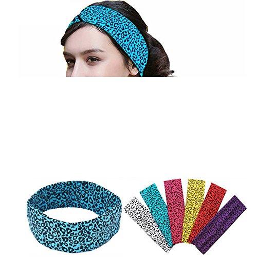Special Beauty Nice Sports Hair Bands Cheetah Leopard Printing Cotton Stretch Headbands Bandage On Head Gum Turban Bandanas Autumn Winter