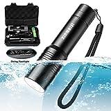 Best Waterproof Flashlights - Xinmaisi Diving Flashlight, Underwater Flashlight Waterproof LED Tactical Review