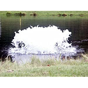 Kasco Marine 3400A 050 - High Oxygen Transfer Aerator Only, No Float, ¾hp, 120 volts, 50' Cord