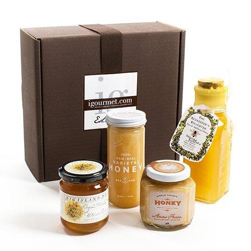 Raw Honey Gift Box (2.8 pound) by igourmet